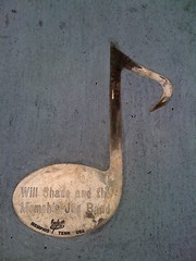 Brass note on Beale Street for Will Shade and the Memphis Jug Band