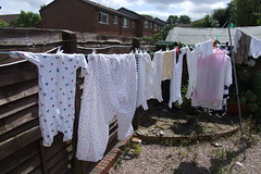 Baby Clothes on the line