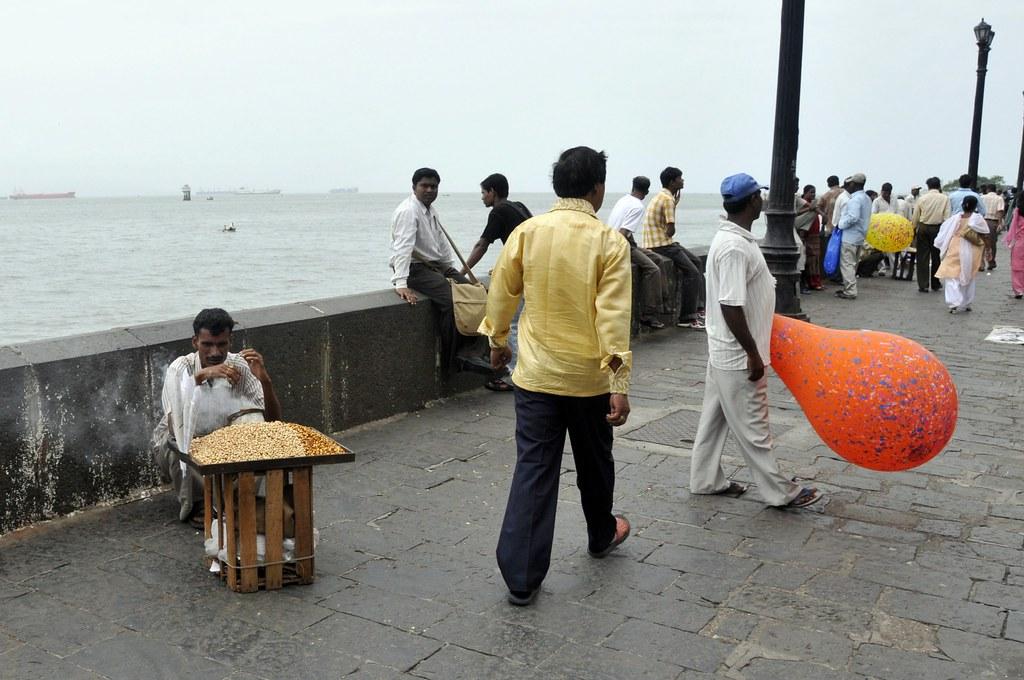beach view from Mumbai
