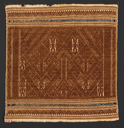 //Tampan//, Paminggir people. Lampung region of Sumatra, 19th century, 39 x 40 cm. From the library of Darwin Sjamsudin, Jakarta. Photograph by D Dunlop.