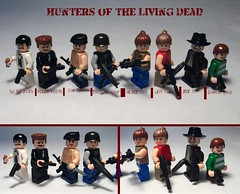 Hunters of the Living Dead (zelegoking) Tags: dead living cool lego zombie hunter brickarms zlk