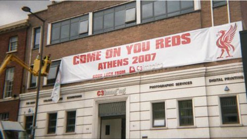 Outdoor - C3imaging - Liverpool - European Champions League Final Reds 2007