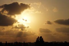 (shmarinuma) Tags: light sunset sky cloud sun white gold ray allrightsreserved ענבלרנקש inbalrnakash
