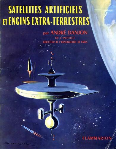 ESPACE / LIVRE DE 1961 / COUVERTURE DE FRANQUIN