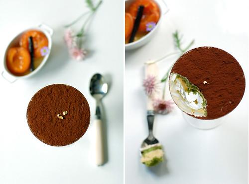 Apricot & Matcha Tiramisu cup