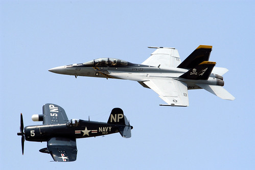 Airplane picture - Navy Legacy Flight