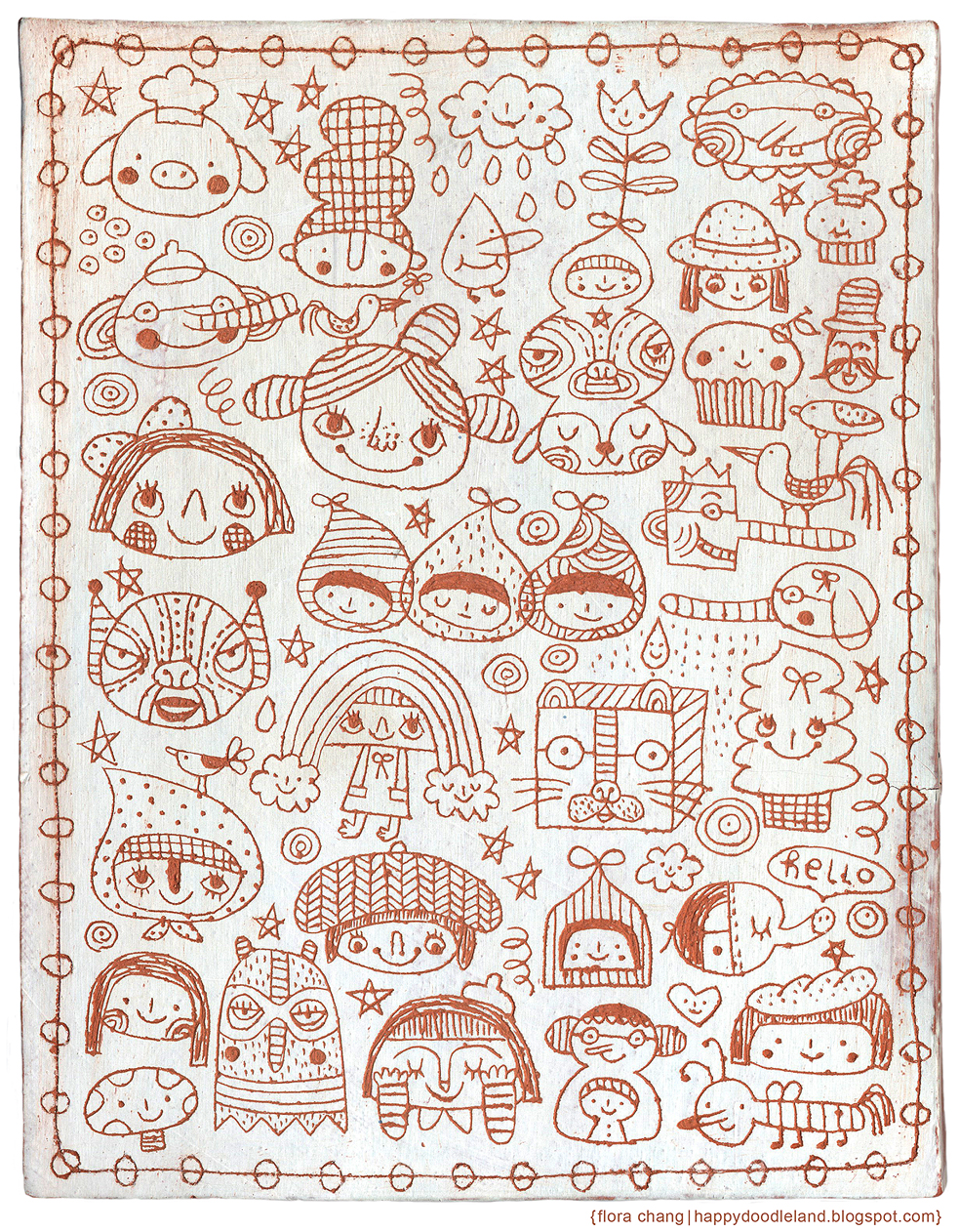 Doodles Ceramic