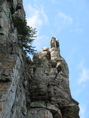 Rocky pinnacle (Pinnacle, North Carolina, United States) Photo