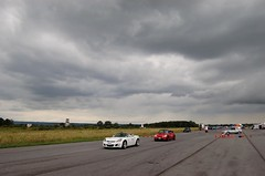 Those clouds look juuuust fiiine (*Your Pal Marnie) Tags: ny car race racing romulus solo autocross autox scca flr sead senecaarmydepot