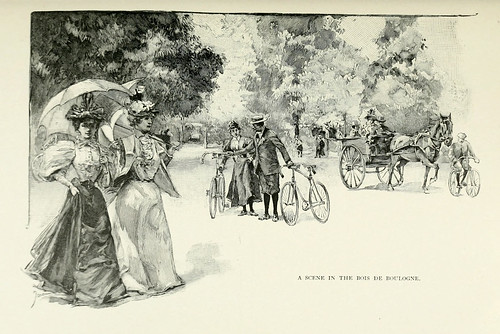 030-Una escena en el bosque de Boulogne-Paris from the earliest period to the present day 1902