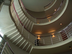Stairwell at the Midland Hotel (davidrhodes2019) Tags: artdeco gill delawarr restorations midlandhotelmorecambe lakedays