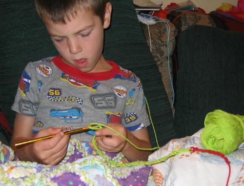 My crochet boy