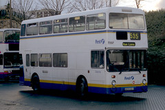 First Calderline 7257 BCB616V (Zippy's Revenge) Tags: first halifax standard busstation leyland fleetline lut greatermanchester firstbus firstgroup 4693 6963 gmbuses northerncounties gmn lancashireunited ncme gmbusesnorth calderline gmstandard bcb616v