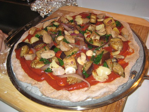 homemade pizza 5