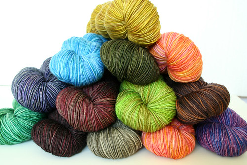 A whole lotta yarn