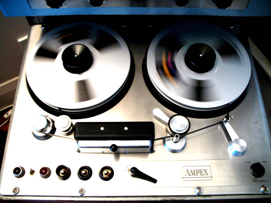 Ampex 300 monural (1-track) recorder