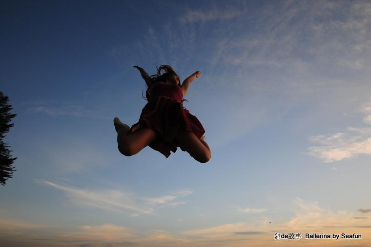 舞的故事  Ballerina (上) - Sea Fun, 5岁  - 稀饭 喜欢 Sea Fun