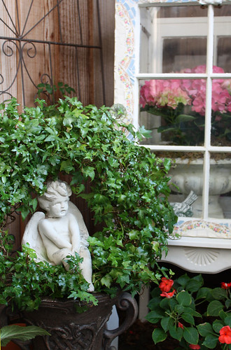 Ivy wreath, via Flickr: Romantic Home