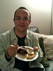 Josh's Bday Cake - Before