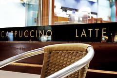 Leaning Towards Latte (jun6lee) Tags: london chair caffenero latte wandsworth cappucino