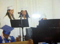 Singing at Graduation