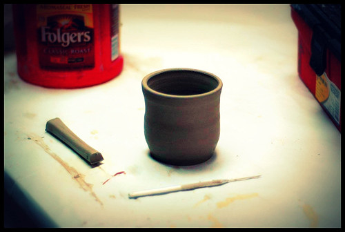 37/365 - My first coffee cup.