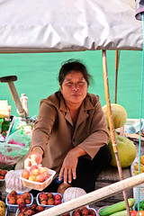 Vietnam Boat Fruit Seller (Chiabox8) Tags: travel boat asia vietnam fruitseller