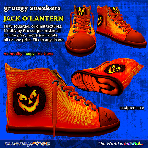 Grungy sneakers HALLOWEEN gifts