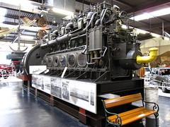 U-Boot Dieselmotor (pilot_micha) Tags: museum germany deutschland d oldtimer halle2 technikmuseum badenwrttemberg sinsheim automuseum dieselmotor autoundtechnikmuseum autotechnikmuseumsinsheim ubootmotor