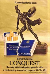 CONQUEST (old school paul) Tags: vintage ads smoking 1968 cigarettes tobacco conquest seniorservice