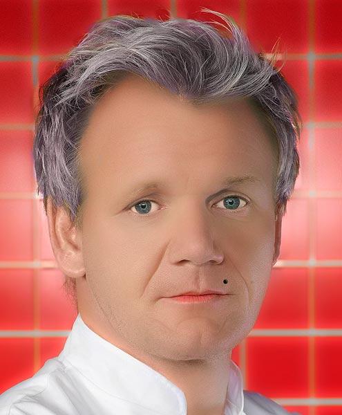 Gordon Ramsay Facelift?
