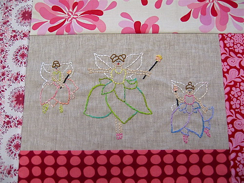 Hand Stitched Embroidery Swap