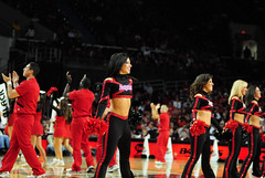 2009 11 04_8397.jpg (kylures) Tags: basketball cheerleaders dancers spirit knights louisville ncaa ladybirds ul cardinals bellarmine uofl freedomhall ncaabasketball collegecheerleaders