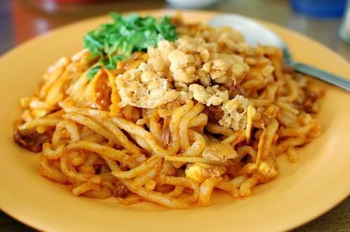 Burmese noodle salads
