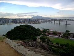 Vitória - panorama (fabioavienna) Tags: sea brazil water brasil landscape wasser mare h2o vitória acqua brasile espiritosanto panorma