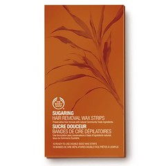 The Body Shop Cotton Hair Wax Removal Strips