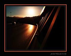 PUENTE EUSKALDUNA (Javier Pascual A.) Tags: contraluz puente bilbao bizkaia euskalherria euskadi bilbo euskalduna javiermanterola