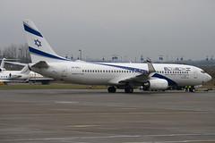 4X-EKJ - 35486 - El Al Israel Airlines - Boeing 737-85P - Luton - 091110 - Steven Gray - IMG_4391