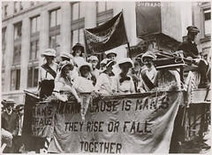 Photograph of Suffrage Parade, 19