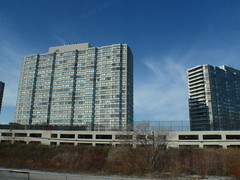 Modernist Tower Blocks, Road to OShawa