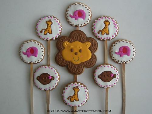 Safari cookies on a stick