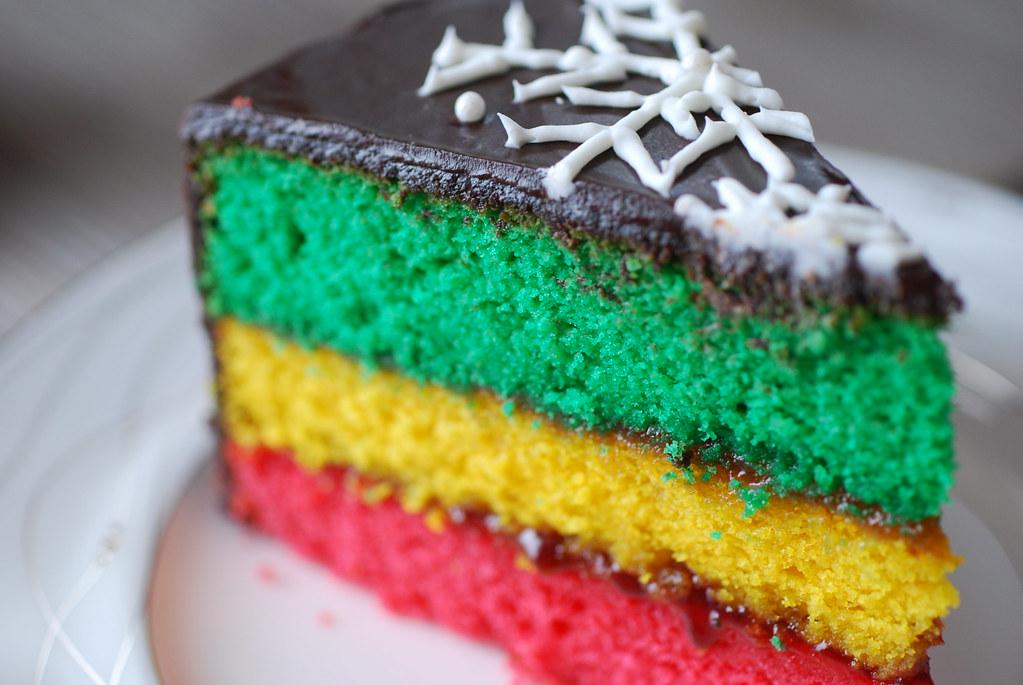 Italian Rainbow Cookie Cake Recipe