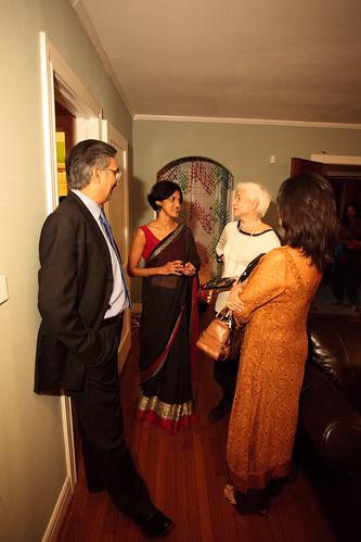 Pakistani Consul General, Sissy Farenthold