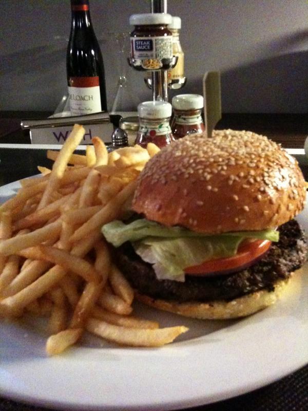 W Hotel burger