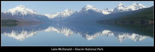 WoW- Glacier National Park