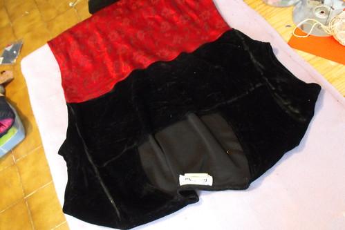 El vestido antes