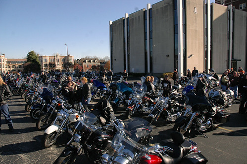Over 350 riders delivered toys to The Salvation Army.