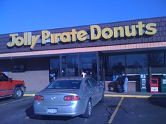 Jolly Pirate Donuts Store (justgrimes) Tags: west coffee virginia huntington wv donuts pirate donut jolly jollypiratedonuts jollypirate