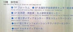 Engineering building directory Hyoshi campus Keio U.