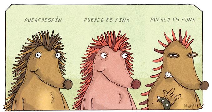 Puercoespink